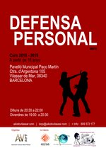 Classes de Defensa Personal en AV